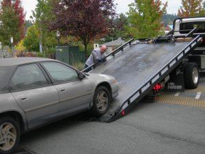 Towing Tacoma